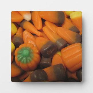 秋キャンデートウモロコシのプラク フォトプラーク