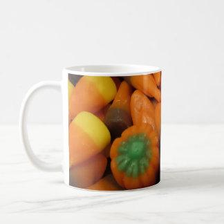 秋キャンデートウモロコシのマグ コーヒーマグカップ