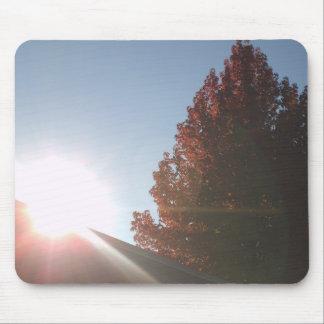 秋季の日没 マウスパッド