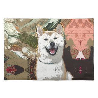 秋田Inu犬 ランチョンマット