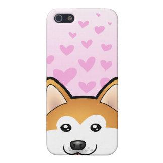 秋田Inu/柴犬愛 iPhone 5 Cover