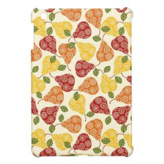 秋色の美しくかわいいナシ iPad MINI CASE