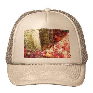 秋色。黄金色。 トラッカー帽子