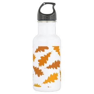 秋葉のパターン ウォーターボトル