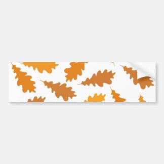秋葉のパターン バンパーステッカー