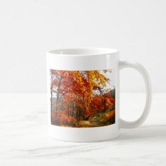 秋 コーヒーマグカップ