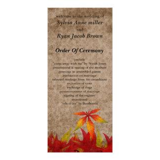 秋|結婚|プログラム カスタマイズラックカード