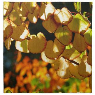 秋(Herbstblätter)の色 ナプキンクロス
