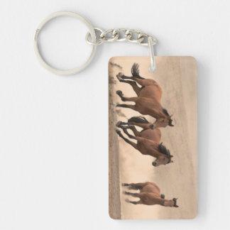 秋IIの馬 キーホルダー