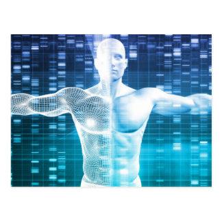 科学としてDNAの符号化そして遺伝コード ポストカード