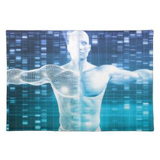 科学としてDNAの符号化そして遺伝コード ランチョンマット
