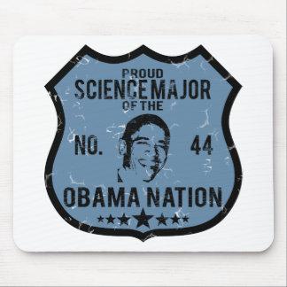 科学の専攻のなオバマの国家 マウスパッド