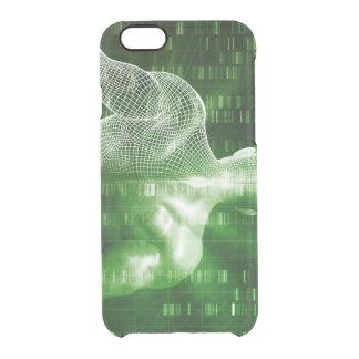 科学の抽象芸術としてDNA配列するか、または順序 クリアiPhone 6/6Sケース