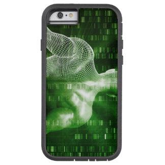 科学の抽象芸術としてDNA配列するか、または順序 TOUGH XTREME iPhone 6 ケース