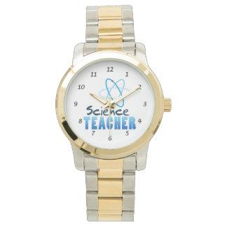 科学の教師 腕時計