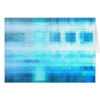 科学の未来派のインターネットのコンピュータ技術 カード
