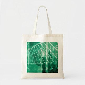 科学の芸術として薬剤の研究データ トートバッグ