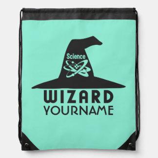 科学の魔法使いカスタムな色のバッグ ナップサック
