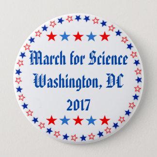 科学のWashington D.C.のための3月 缶バッジ