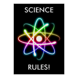 科学はユニークな|を支配します ポスター
