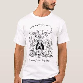 科学は最高支配します Tシャツ