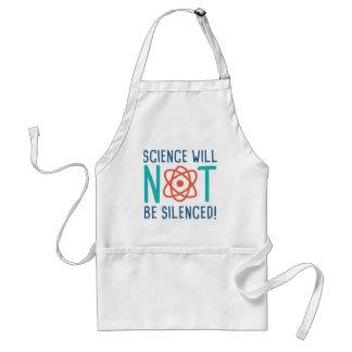 科学は沈黙しません スタンダードエプロン