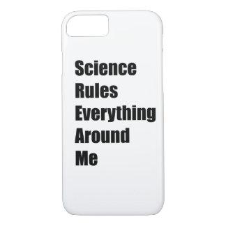 科学は私のまわりですべてを支配します iPhone 8/7ケース