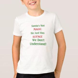 科学的なサンタ Tシャツ
