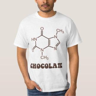 科学的なチョコレート要素のテオブロミンの分子 Tシャツ