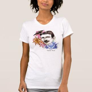 科学者シリーズコレクション: ニコラ・テスラ Tシャツ