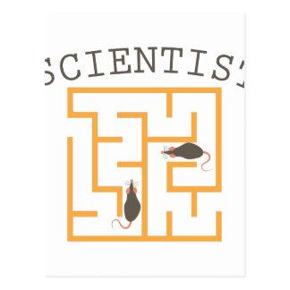 科学者 ポストカード