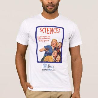 科学! 操業! Tシャツ
