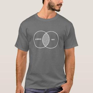 科学/芸術のVennの図表 Tシャツ