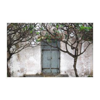 秘密のドア キャンバスプリント