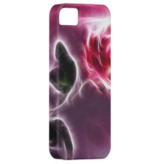 秘密のピンクのバラ iPhone SE/5/5s ケース
