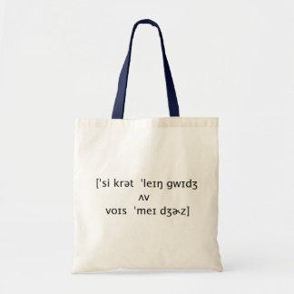 秘密の言語 トートバッグ