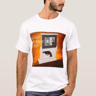 秘密の貯蔵。 網 Tシャツ