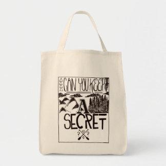 秘密を保つことができます トートバッグ