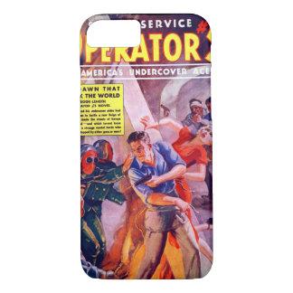 秘密情報機関オペレータ11月5日12月1938a_Pulpの芸術 iPhone 8/7ケース