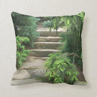 秘密階段写真の枕 クッション