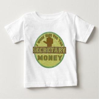 秘書 ベビーTシャツ
