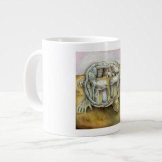 移住のグリフ ジャンボコーヒーマグカップ