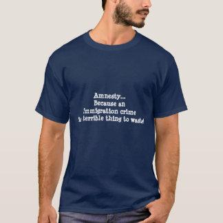 移住の法律 Tシャツ
