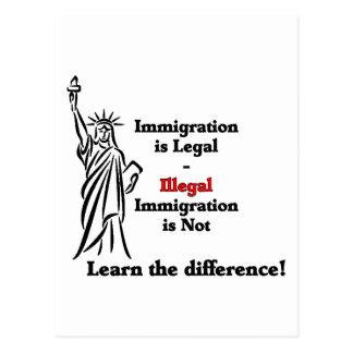 移住は法的です ポストカード