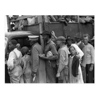 移住性の野菜労働者: 1939年 ポストカード