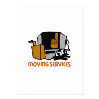 移動サービス ポストカード