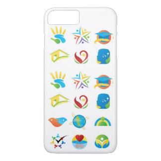 移動式ポッドの非常に特有で魅力的なデザイン iPhone 8 PLUS/7 PLUSケース