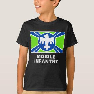 移動式歩兵は印を付けます Tシャツ