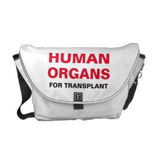 移植のための人間の臓器 メッセンジャーバッグ