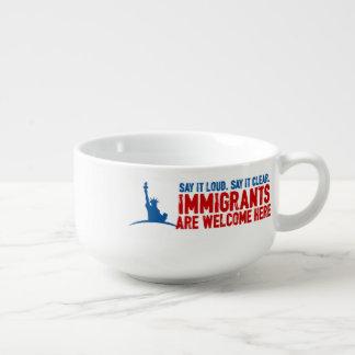 移民はスープマグを歓迎します スープマグ